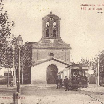 Le tramway à vapeur de St Simon